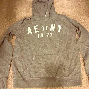 Gray American Eagle hoodie